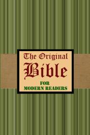 The Original Bible for Modern Readers - cover